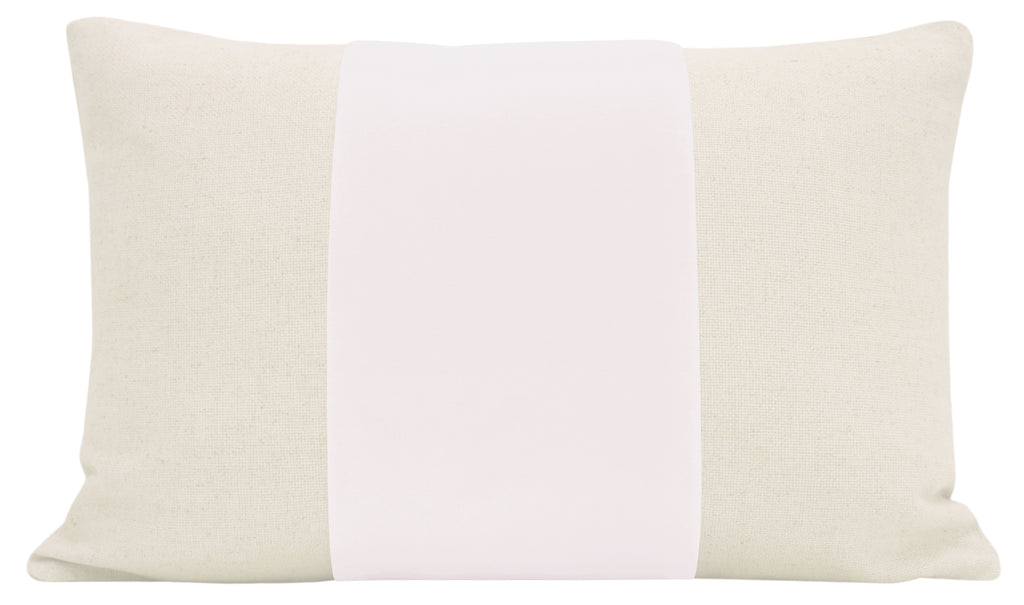 The Little Lumbar :: PANEL Signature Velvet // Alabaster