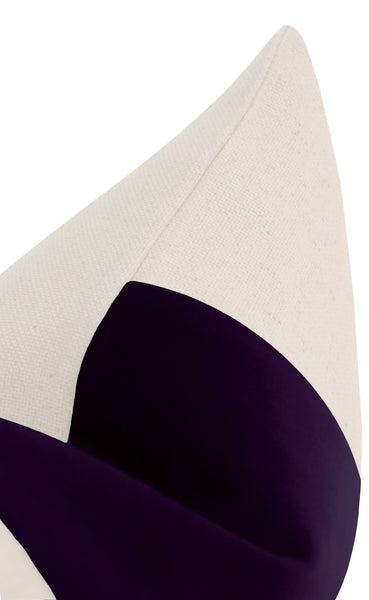 The Little Lumbar :: PANEL Signature Velvet // Aubergine