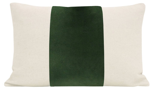 The Little Lumbar :: PANEL Signature Velvet // Fern