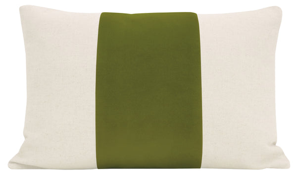 The Little Lumbar :: PANEL Signature Velvet // Olive
