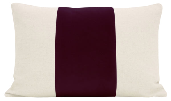 The Little Lumbar :: PANEL Signature Velvet // Merlot