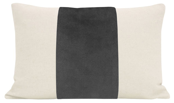 The Little Lumbar :: PANEL Signature Velvet // Graphite