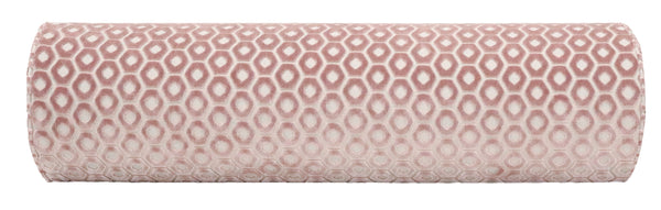 The Bolster :: Paloma Cut Velvet // Blush