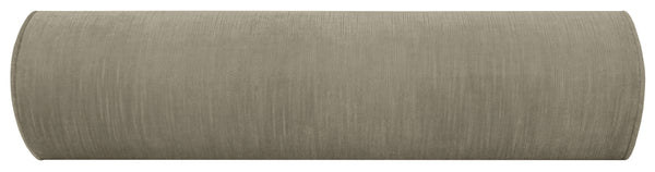 The Bolster :: Strie Velvet // Grey