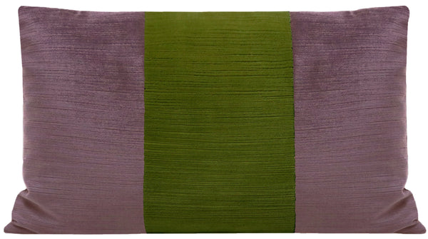 The Little Lumbar :: Strie Velvet // Smokey Amethyst + Peridot