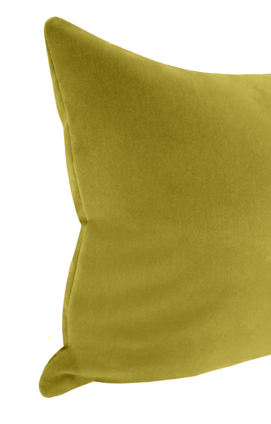The XL Lumbar :: Studio Velvet // Chartreuse