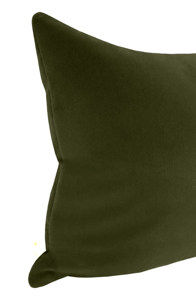 The XL Lumbar :: Studio Velvet // Olive