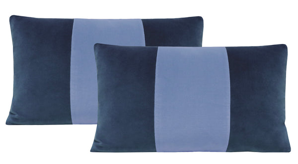 The Little Lumbar :: Signature Velvet // Prussian Blue + Periwinkle