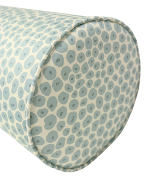 The Bolster :: Doddie Print // Spa Blue