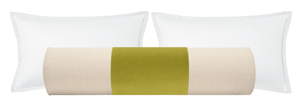 PANEL // The Bolster :: Studio Velvet // Chartreuse