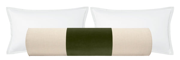 PANEL // The Bolster :: Studio Velvet // Olive