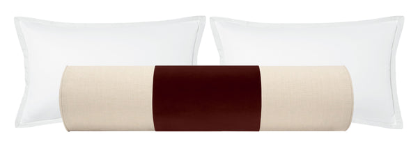 PANEL // The Bolster :: Studio Velvet // Oxblood