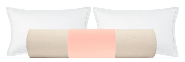 PANEL // The Bolster :: Studio Velvet // Pink Peony