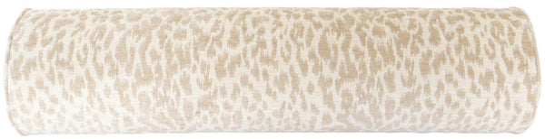 The Bolster :: Neutral Leopard Chenille