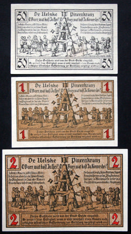 "OELDE ""Children's Pentecost Wreath"" 1921 complete set Notgeld Germany"