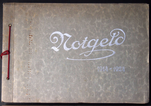 Original old Notgeld Album, empty (not up to modern preservation standards) #12