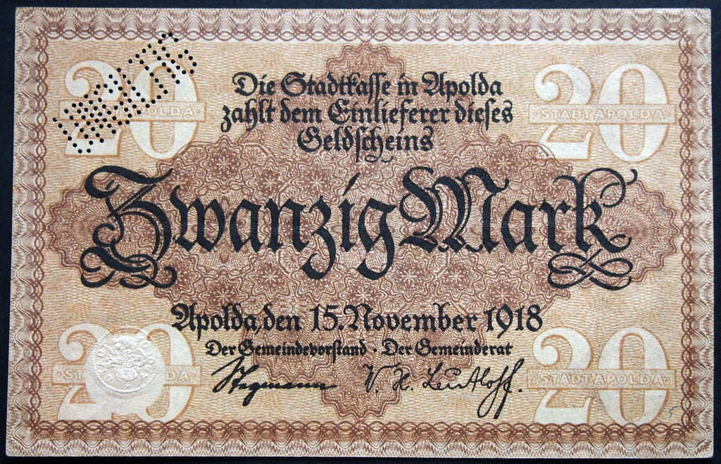 STUTTGART REICHSBAHN 1923 5 Trillion Mark Railroad Inflation Notgeld German Banknote