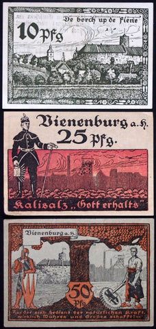 VIENENBURG 1921 complete series German Notgeld