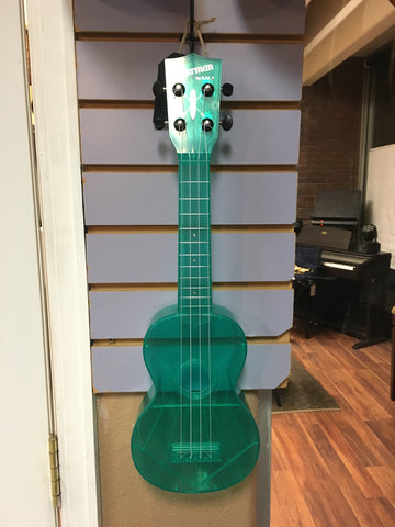 Kala Waterman Ukulele Translucent Aqua Blue