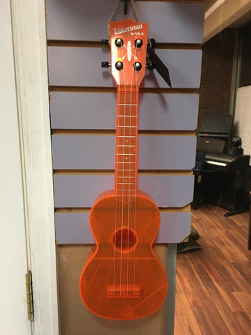 Kala Waterman Ukulele Translucent Orange