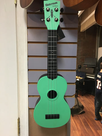 Kala Waterman Ukulele Matte Green