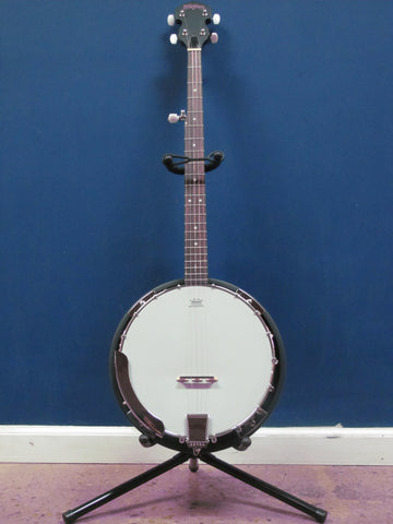 Washburn B8 5 String Banjo Package