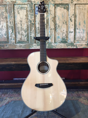 Breedlove Pursuit Concert CE - Striped Ebony