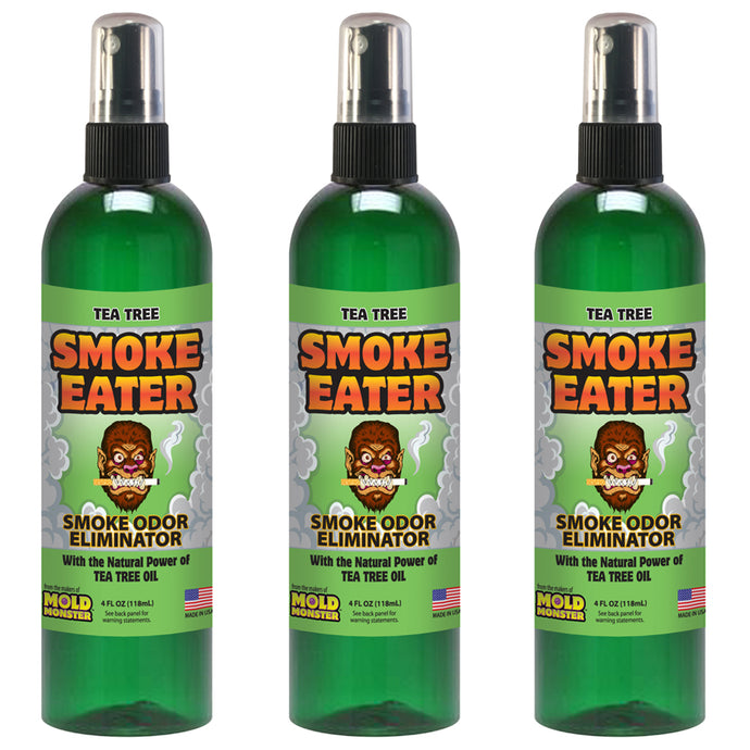 Smoke Eater - Tea Tree, 4 oz. 3 Pack