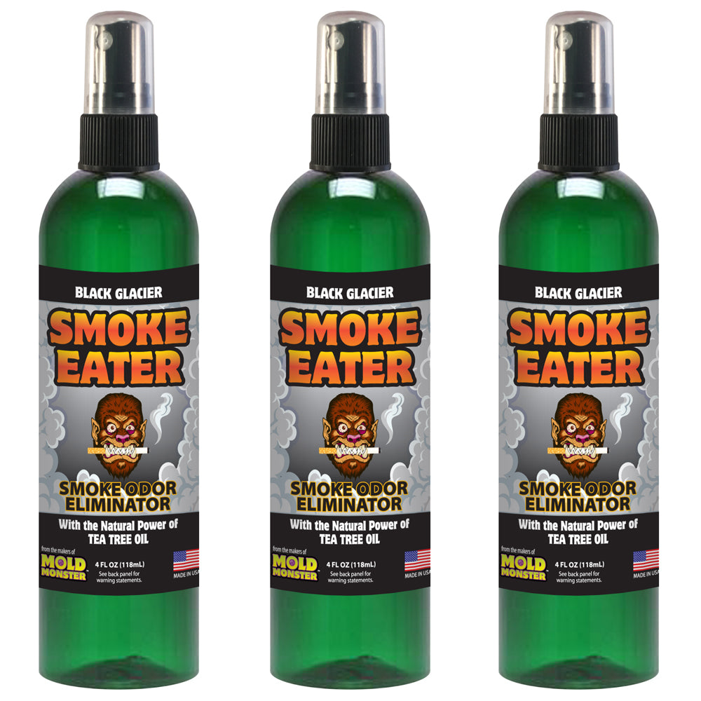 Smoke Eater - Black Glacier, 4 oz. 3 Pack