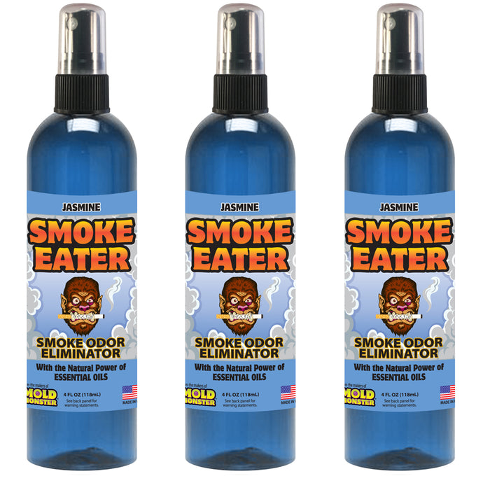 Smoke Eater - Jasmine, 4 oz. 3 pack