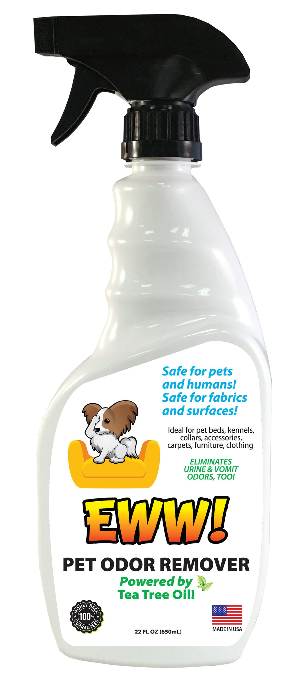 Eww! Pet Odor Removal - 22oz Bottle