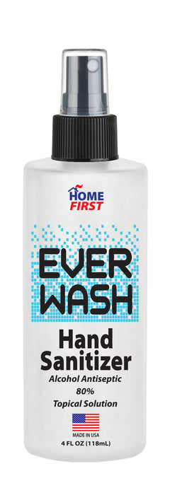 EVER WASH Hand Sanitizer- 4 oz Bottle