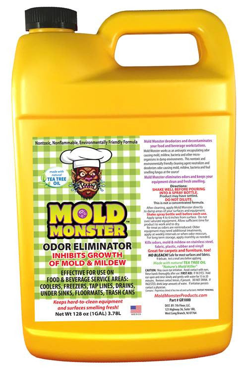 Odor Control for Food Service Gallon Bottle