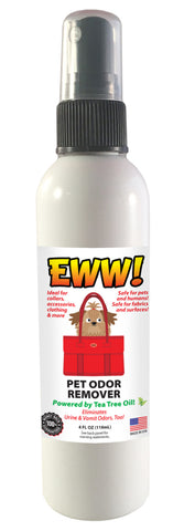 Eww! Pet Odor Removal 4 oz Bottle