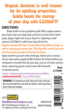 Ezz & Lift Uplifting Spray (Canine Therapy), 4.oz
