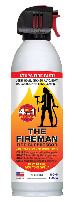 The Fireman - Fire Suppressor, 18 oz.