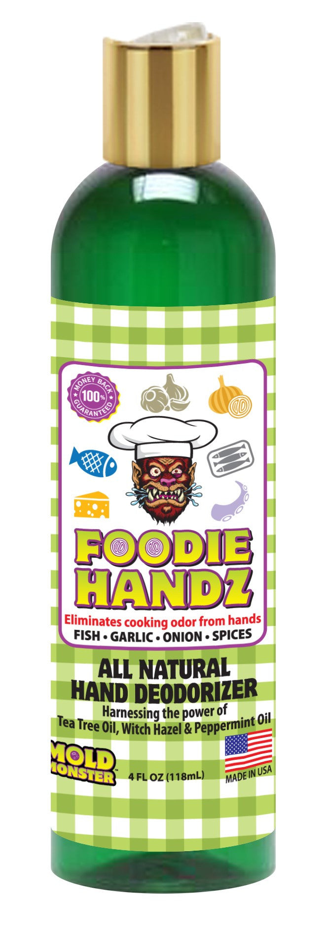 Foodie Handz, 4 oz. Bottle