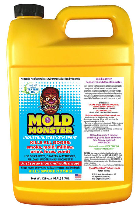 Industrial Strength Mold and Odor Control Gallon Bottle