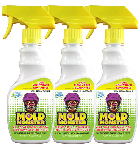 3 Pack-10oz Bottle Mold Monster