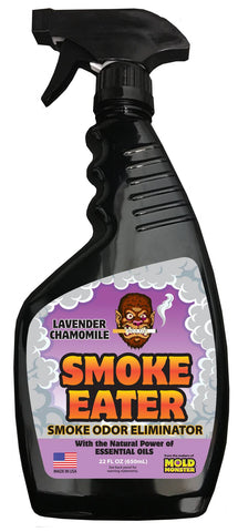 22oz Bottle of Smoke Eater- Lavender Chamomile