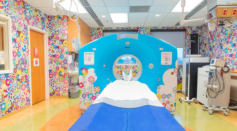 RxART Takashi Murakami Childrens National Hospital Artist: Kenson Noele