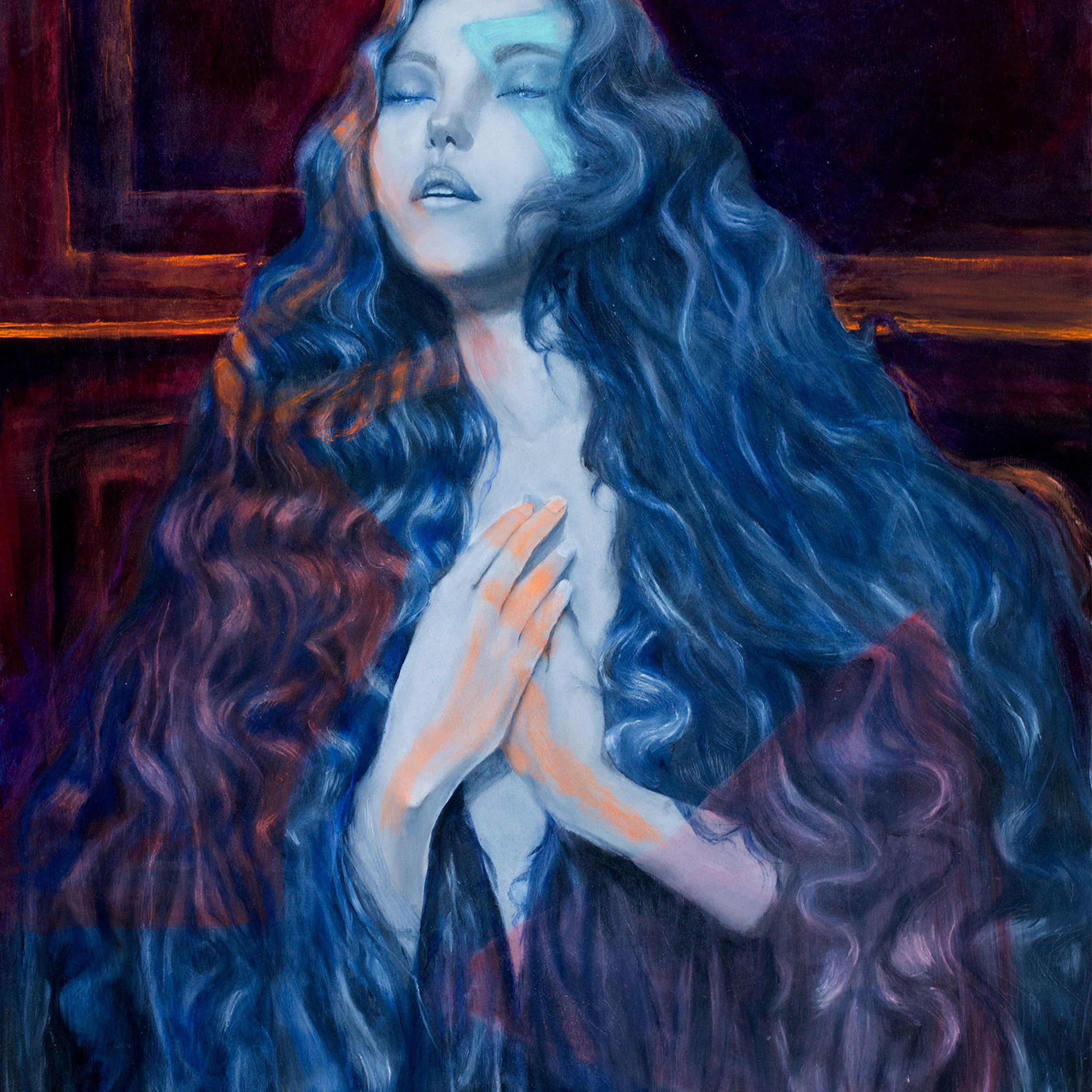 Liquid Dreams (The Millennial Mona Lisa) ARCHIVAL GICLÉE PRINT