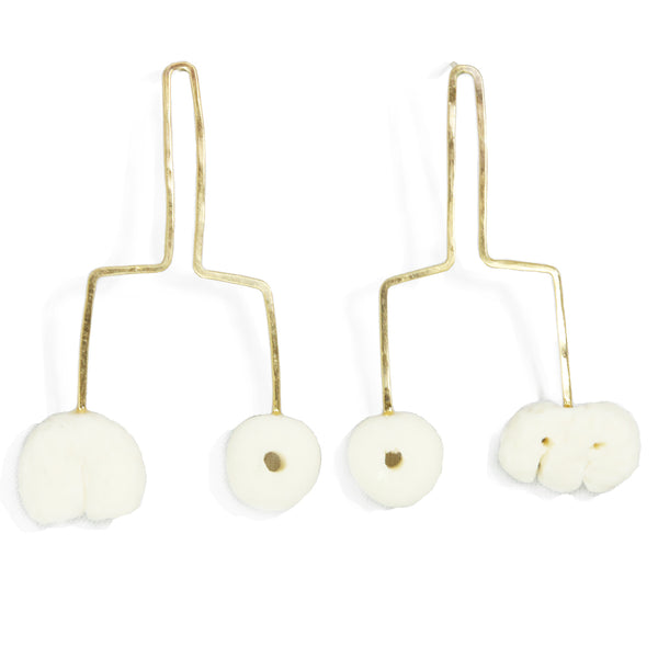 Porcelain Motif Earrings