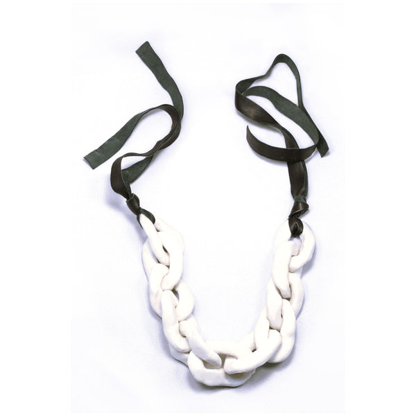 Porcelain Chain Necklace