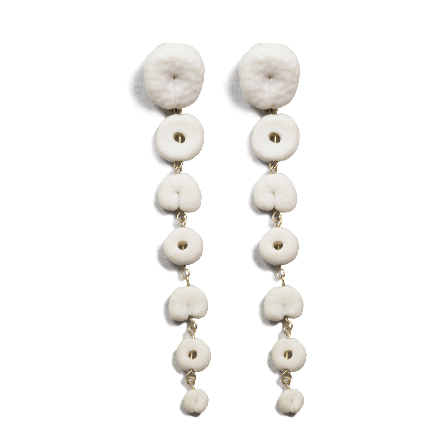 Beaded Motif Earrings