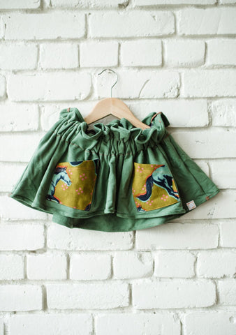 Horse Pocket Paper Bag Skirt