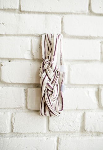 Desert Stripe Carrick Knot Headband