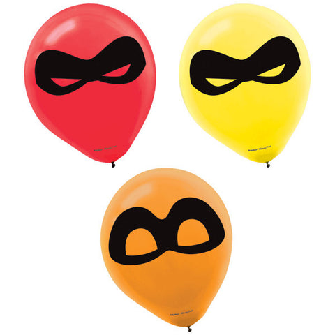 Incredibles 2 Printed Latex Balloons, 6ct.