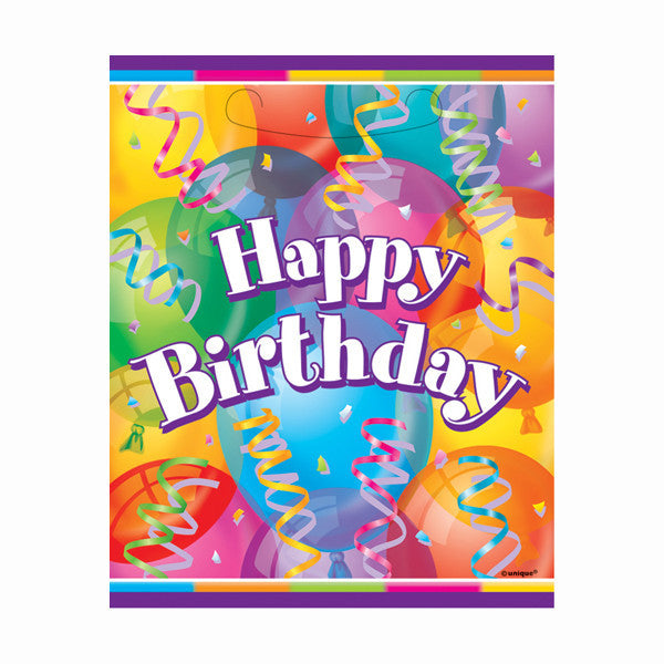 Brilliant Birthday Party Favor Bags 8ct.