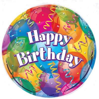 Brilliant Birthday Foil Balloon - Sakura Toyland, Inc